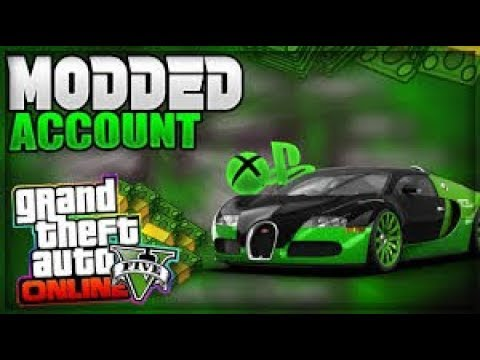 How To Get A Free GTA 5 Modded Account 200 Billion!