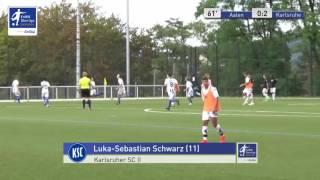 B-Junioren - VfR Aalen vs. Karlsruher SC II (U16) 0:2 - Luka-Sebastian Schwarz