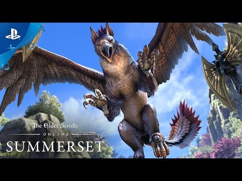 The Elder Scrolls Online: Summerset - Gameplay Announce Trailer | PS4