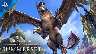 The Elder Scrolls Online: Summerset - Gameplay Announce Trailer | PS4