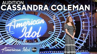 Angelic! Cassandra Coleman Is A Voice The World Has Never Heard! - American Idol 2021