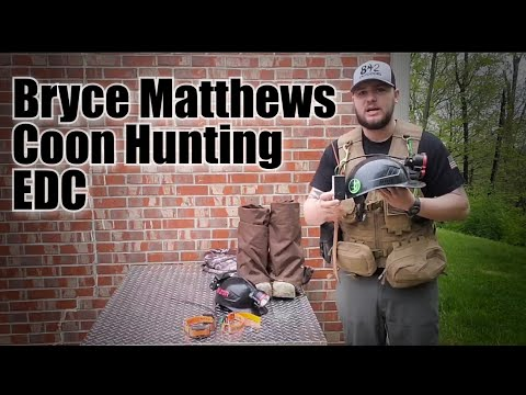 Bryces Coon Hunting Gear EDC