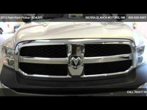 2013 Ram Ram Pickup Tradesman For Sale In Ruidoso Nm