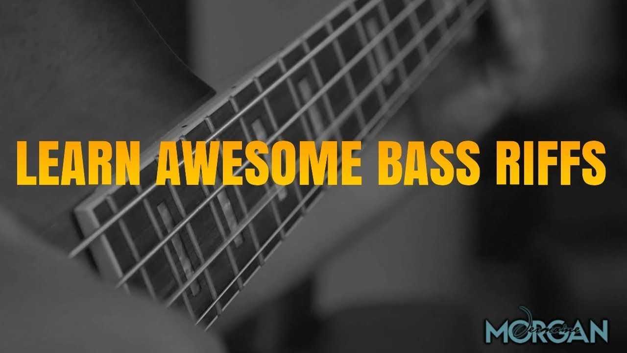 LEARN AWESOME BASS RIFFS AND LICKS