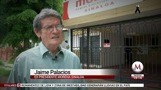 AMLO es el unico que decide ex lider de Morena en Sinaloa