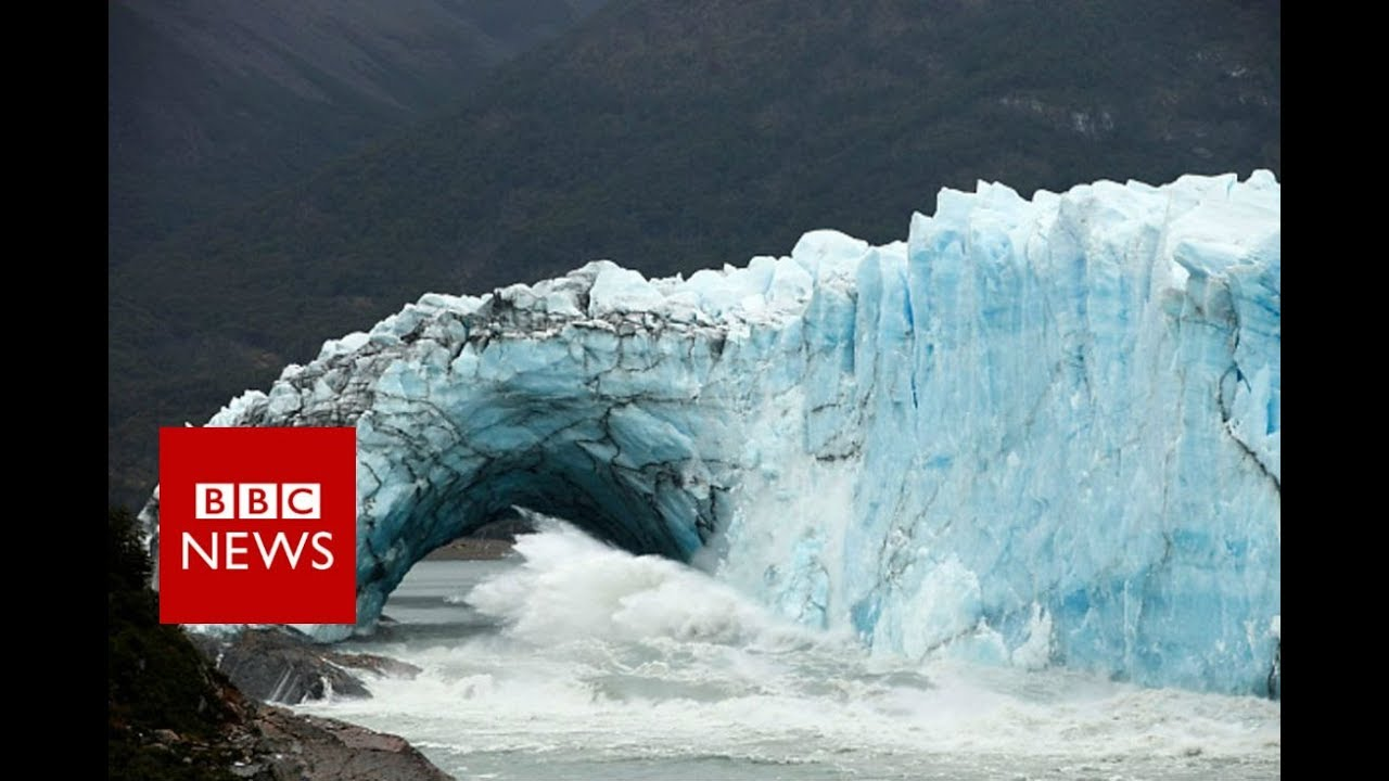 The glacier that keeps collapsing - BBC News #1