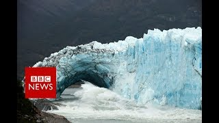 The glacier that keeps collapsing - BBC News
