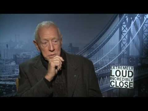 Max von Sydow's Official WB Interview for 'Extremely Loud & Incredibly Close' on Celebs.com