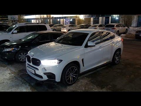 BMW X6M с тюнингом на 15,000
