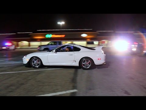 COPS VS JDM TUNERS! Rev Battle Shut Down By Police!