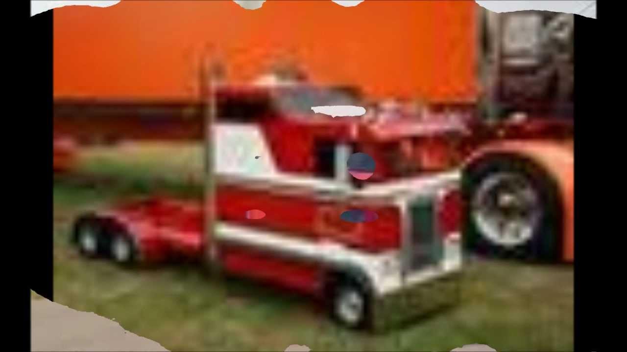 mini big rig semi trucks peterbilt and kenworths youtube. Black Bedroom Furniture Sets. Home Design Ideas