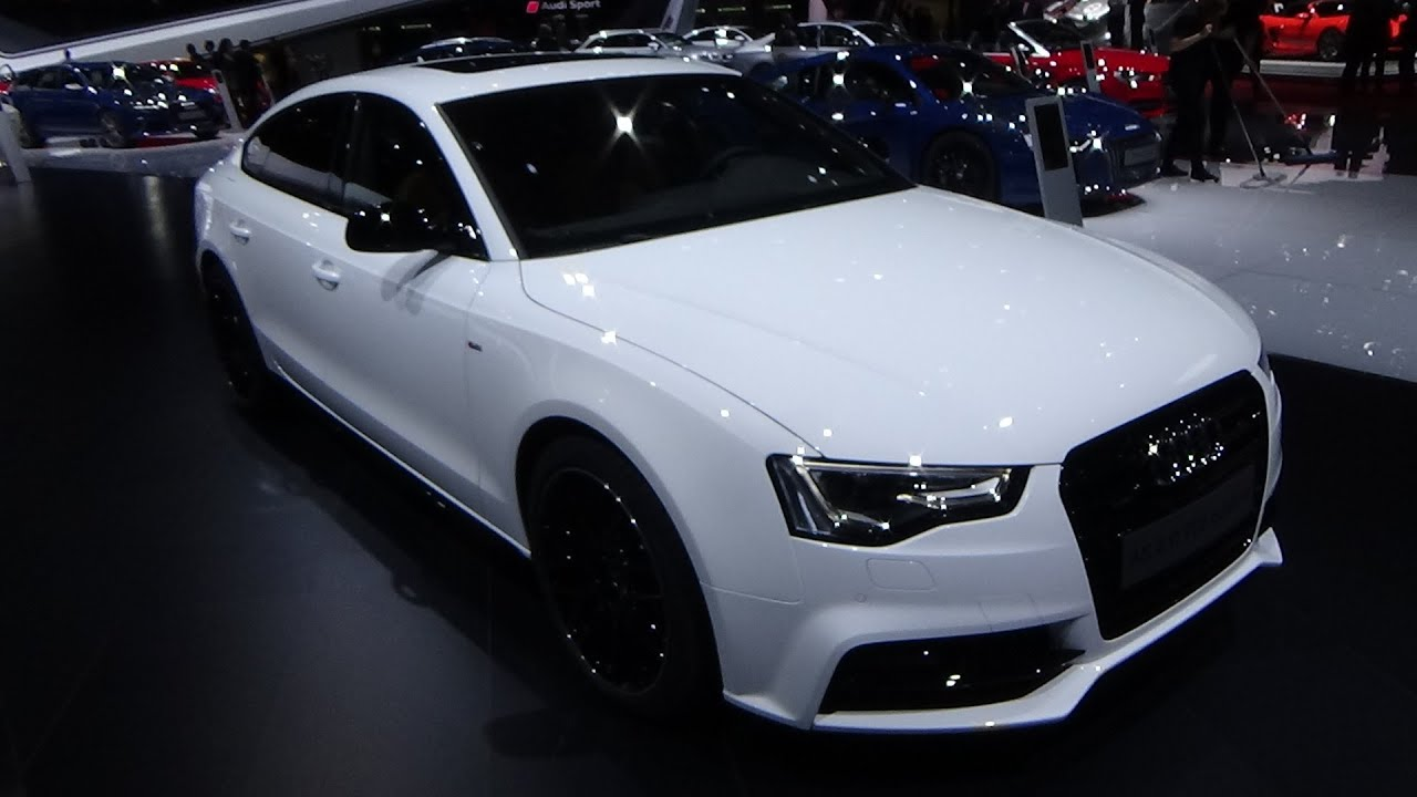 2016 audi a5 sportback exterior and interior geneva. Black Bedroom Furniture Sets. Home Design Ideas