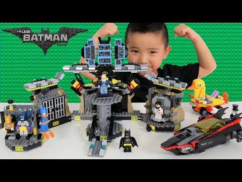Thumbnail: The Batman Lego Movie Batcave Break-in Set Unboxing Assembling And Playing With Ckn Toys