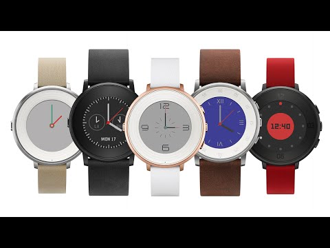 Pebble's Introduces Its New, Round Smart Watch