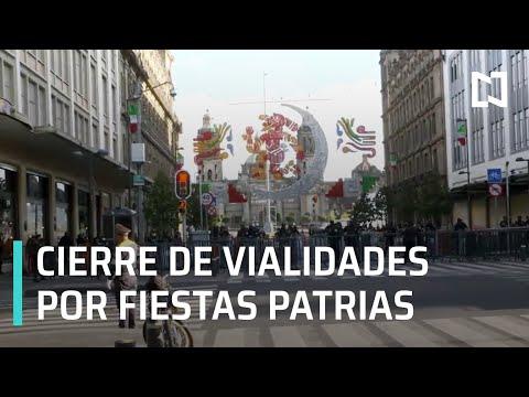 Operativo en el Zócalo de CDMX por fiestas patrias - Al Aire