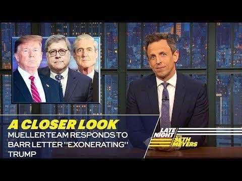 "Mueller Team Responds to Barr Letter ""Exonerating"" Trump: A Closer Look"