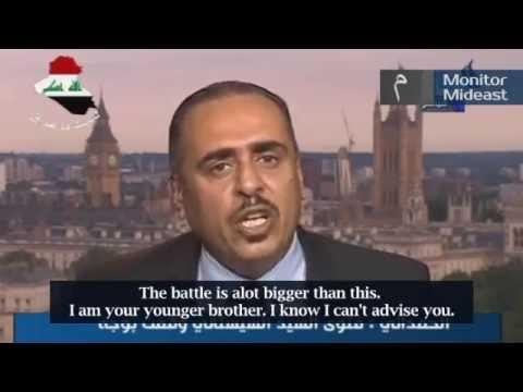 Iraqi Journalist: Al Jazeera Regulates Terror in Iraq (English Subtitles)