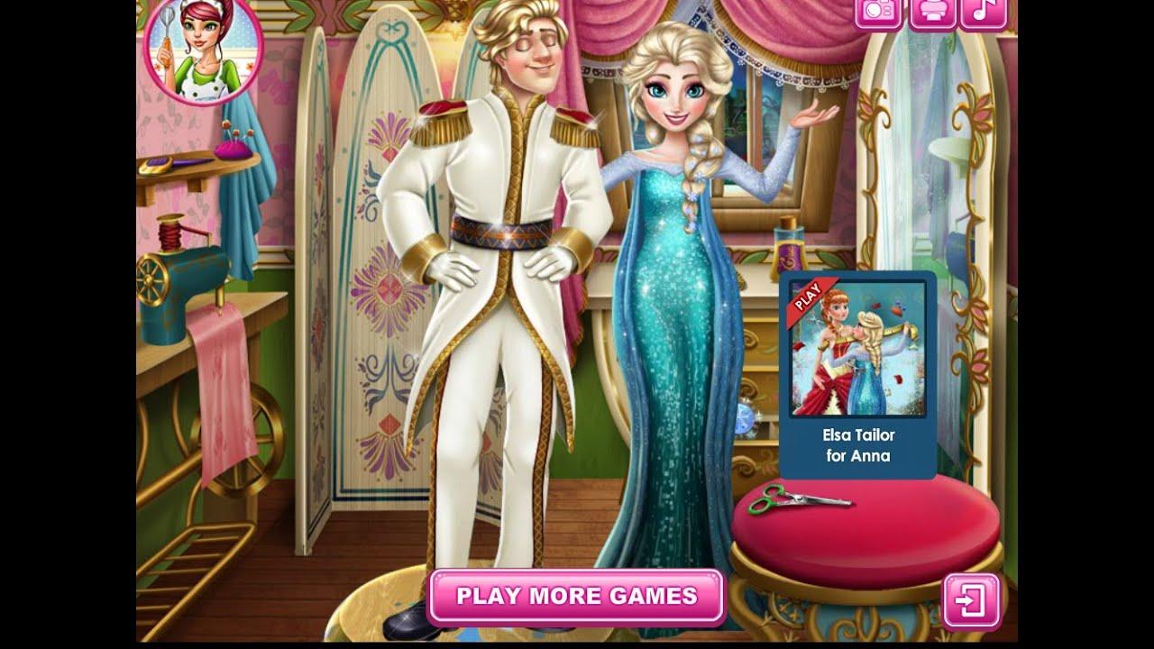 8bd4d8e52a4 Игры для девочек—Эльза Свадебный Дизайнер—Мультфильмы Игры Онлайн Для Детей