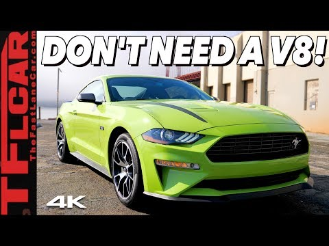 2020 Ford Mustang EcoBoost High Performance Package: It's A Mean And Green Handling Machine!