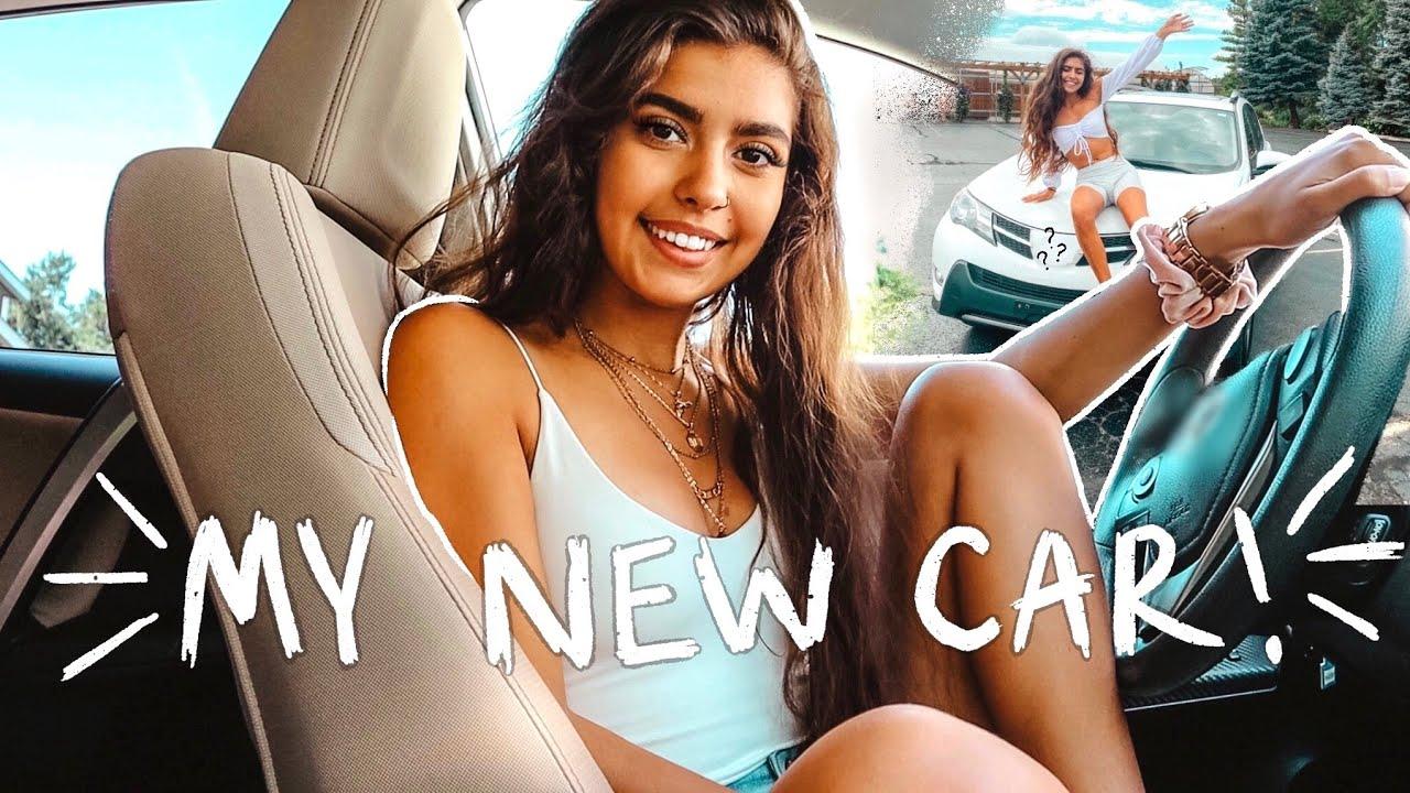BUYING MY DREAM CAR AT 20 + CAR TOUR! | Francesca Grace