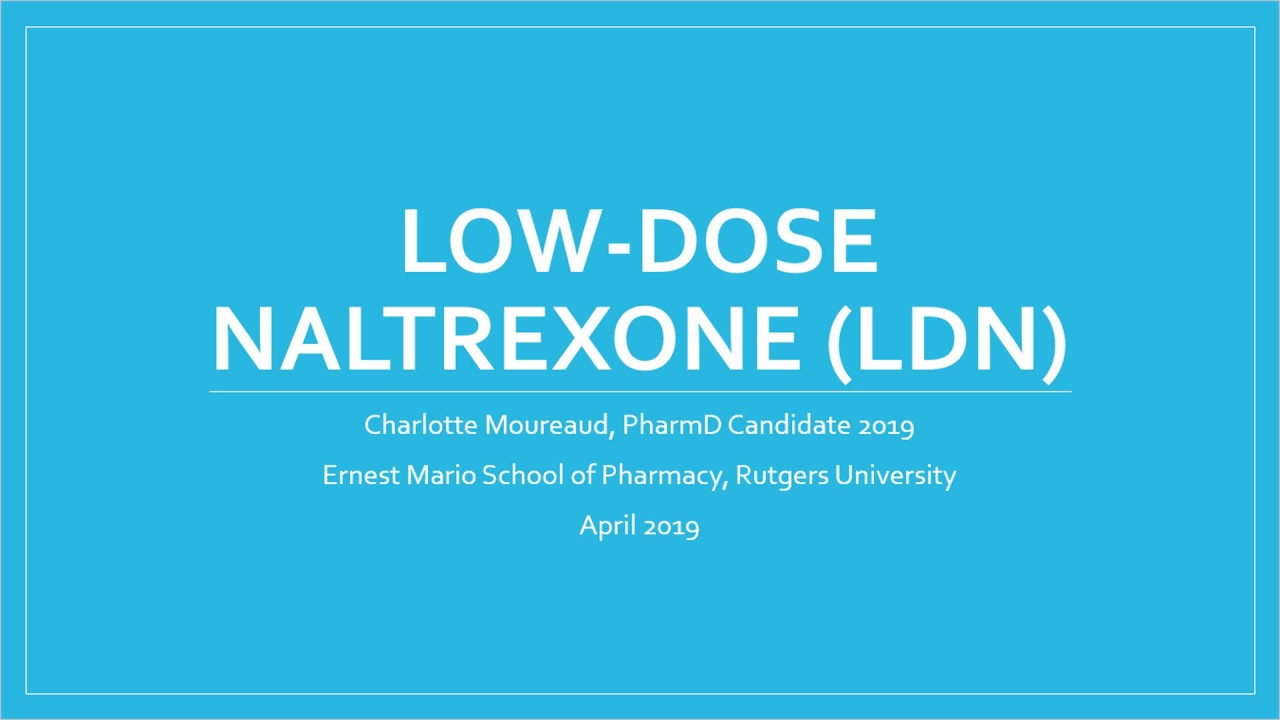 Best Low Dose Naltrexone (LDN) Compounded | CFS