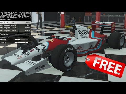 GTA 5 - DLC Vehicle Customization - Progen PR4 (F1 Car) And Review