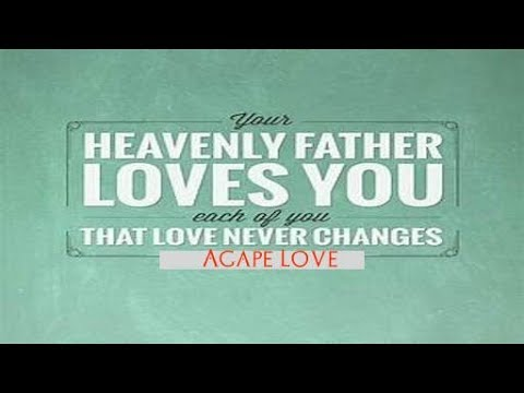 Crazy Love 030218: Father Is Crazy About You! Agape Love, I Cor 13