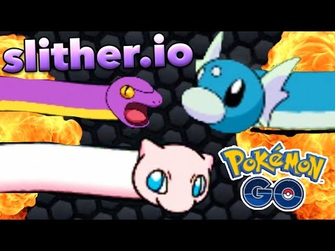 NEW LEGENDARY POKEMON GO HACK / MODDED SKINS GAMEPLAY (Slither.io)