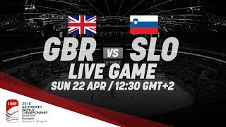 Great Britain - Slovenia | Live | 2018 IIHF Ice Hockey World Championship Division I Group A