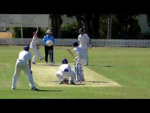 GPS Cricket  - Nudgee Bowling vs BGS (February 2017)