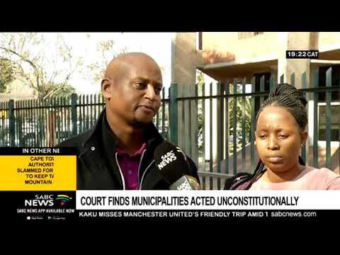 Pietermaritzburg High Court rules against KZN municipalities