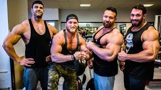 4% KÖRPERFETT - Training mit Hardcore Bodybuildern!