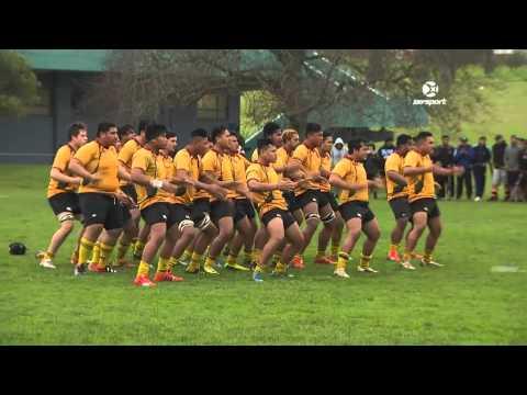 1st XV Rugby: Wesley College v Manurewa High School Haka | SKY TV