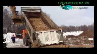 Неудачи при выгрузке самосвала из-за неподготовленных площадок Иваново - РЛК-Сервис