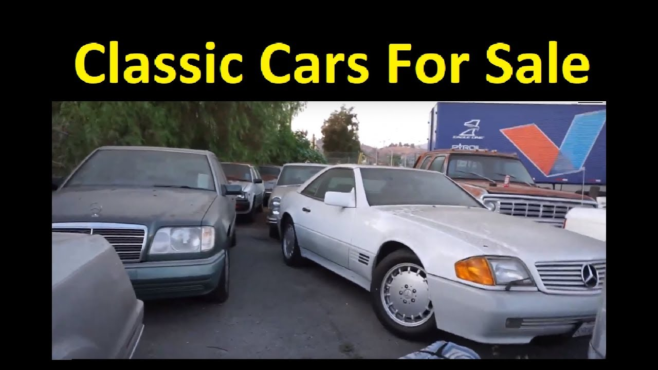 CLASSIC CAR LOT SALE ~ BUY VINTAGE MUSCLE AND PROJECTS W PRICES