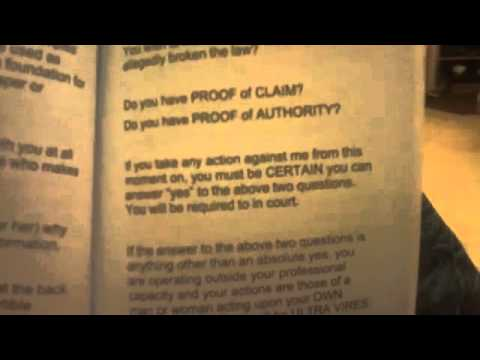 WHERE IS THE CONSENT ! ! PROOF OF CLAIM   AUTHORITY   FOUNDATION EVIDENCE