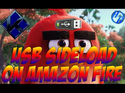 How To Install Addons To KODI Through USB On Amazon Fire TV
