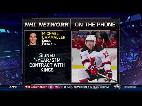 Mike Cammalleri on his Return to the LA Kings