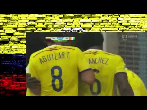 Colombia vs Costa De Marfil 2 1 Mundial Brasil 2014