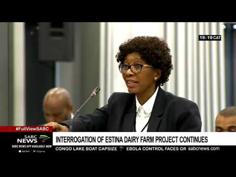 Probe into the Estina Vrede farm project continues at State Capture