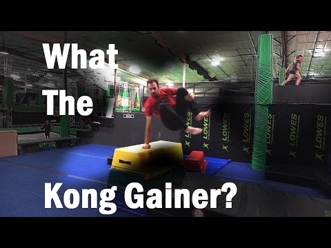 Wonky Kong Gainer Attempts