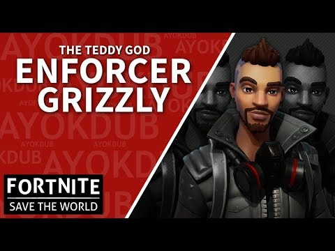 Fornite - Save The World (PVE) - Enforcer Grizzly Gameplay (@Ayokdub)