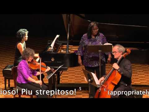 Songs of the Viola - I. Grand Pause captioned