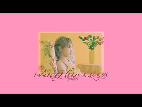 ➳ relaxing korean songs; playlist