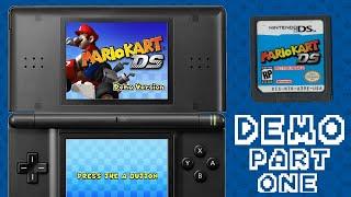 Mario Kart DS Demo Version Gameplay Part 1