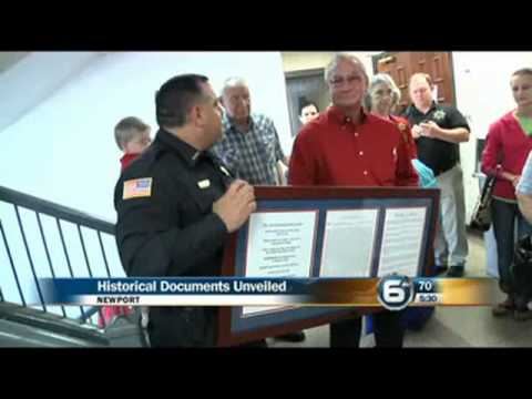 Ten Commandments on display at Cocke County Courthouse