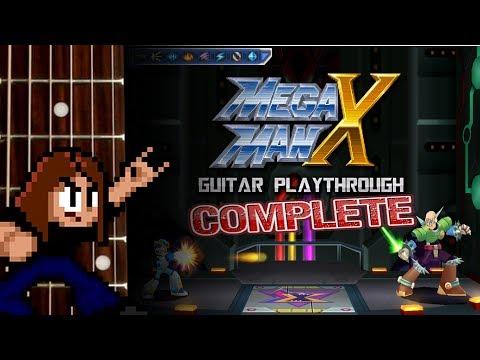 Mega Man X Guitar Playthrough 2016 [COMPLETE]
