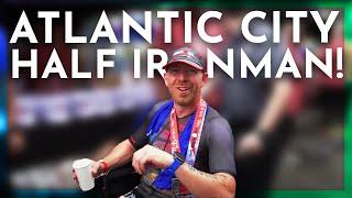 Atlantic City 70.3 Race Day Kona Worlds Surprise!