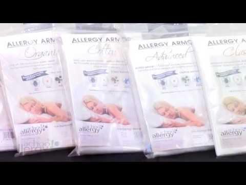 Allergy Armor Pillow Covers by AchooAllergy.com