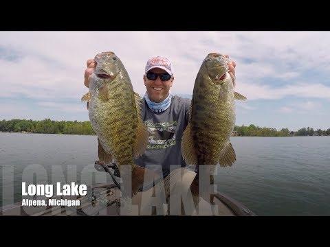 Long Lake Smallmouth Smashfest - Alpena MI - August 2017